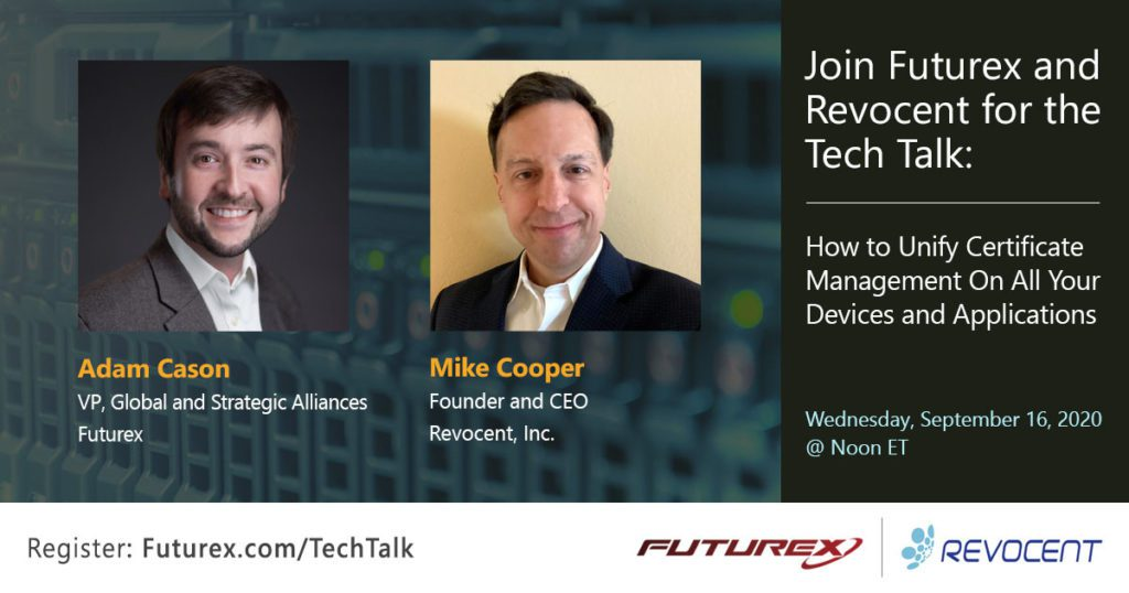 futurex and revocent talk about pki certificate management solutions